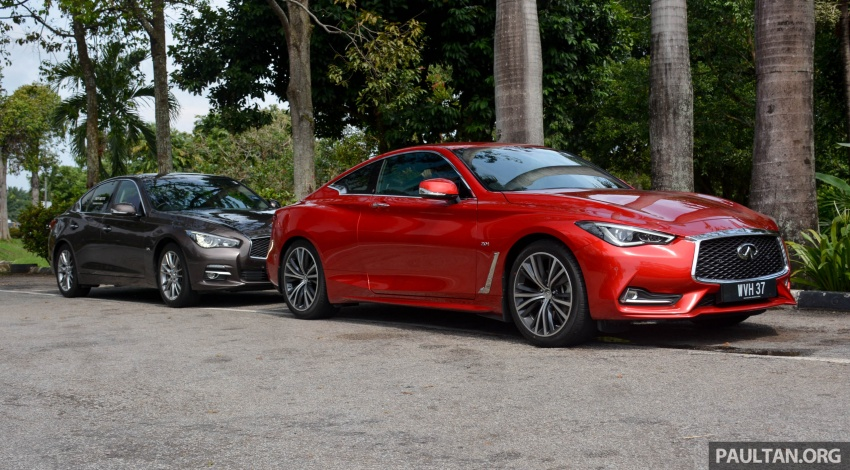 DRIVEN: Infiniti Q60 Coupe – standing out in the crowd Image #655207