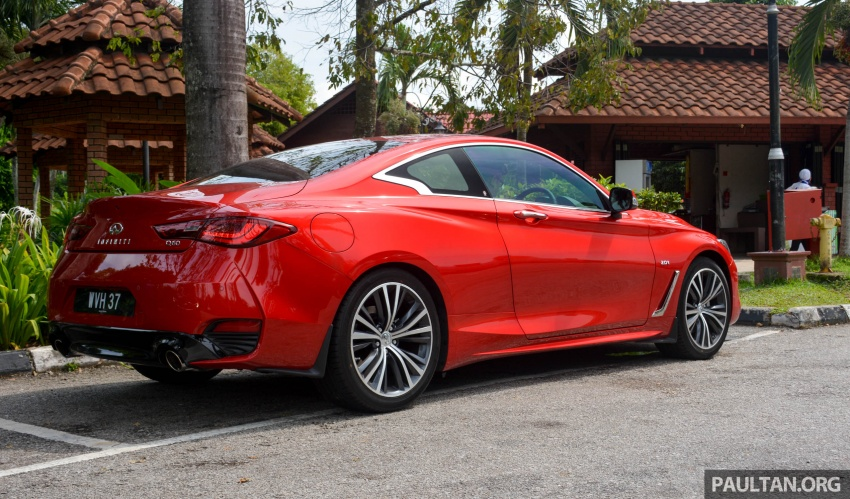 DRIVEN: Infiniti Q60 Coupe – standing out in the crowd Image #655208