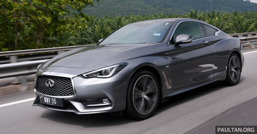 DRIVEN: Infiniti Q60 Coupe – standing out in the crowd Image #655209