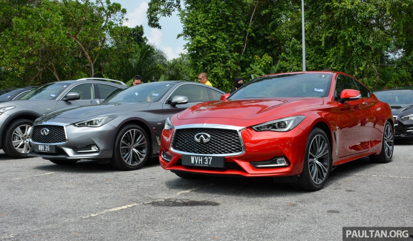 DRIVEN: Infiniti Q60 Coupe – standing out in the crowd Image #655157