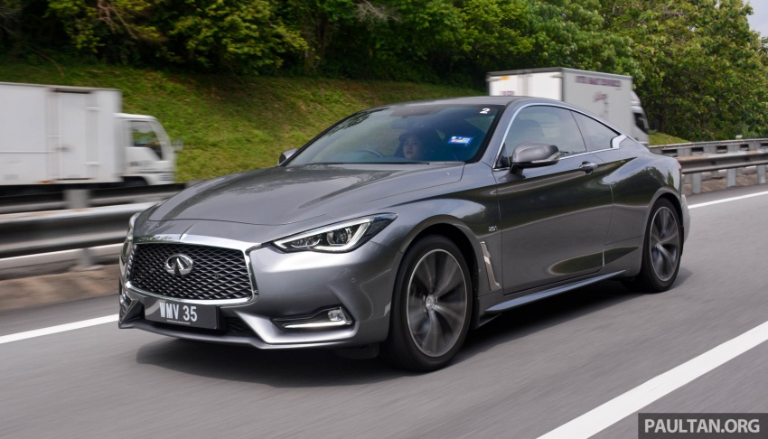 DRIVEN: Infiniti Q60 Coupe – standing out in the crowd Image #655211