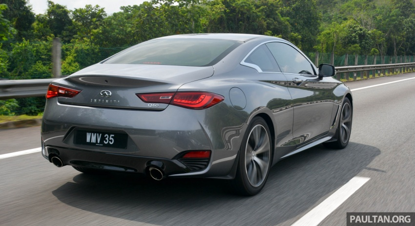 DRIVEN: Infiniti Q60 Coupe – standing out in the crowd Image #655212