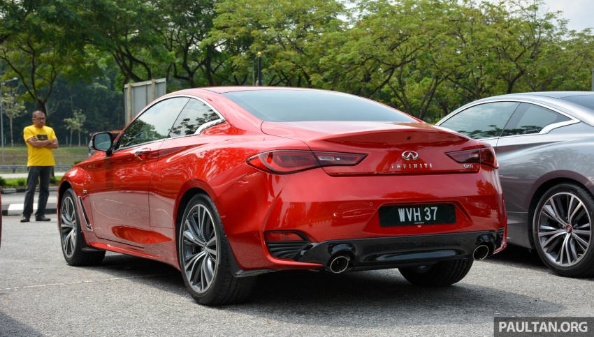 DRIVEN: Infiniti Q60 Coupe – standing out in the crowd Image #655158