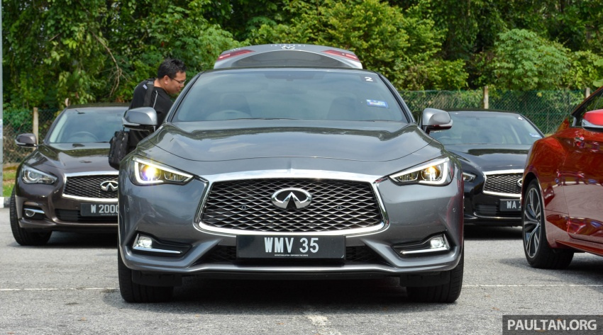 DRIVEN: Infiniti Q60 Coupe – standing out in the crowd Image #655159