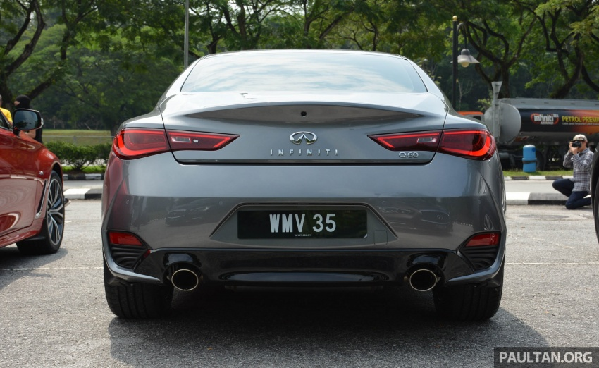 DRIVEN: Infiniti Q60 Coupe – standing out in the crowd Image #655160