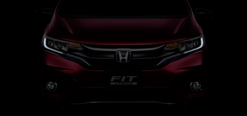 Honda reveals Fit/Jazz facelift in Japan – June launch Image #657095