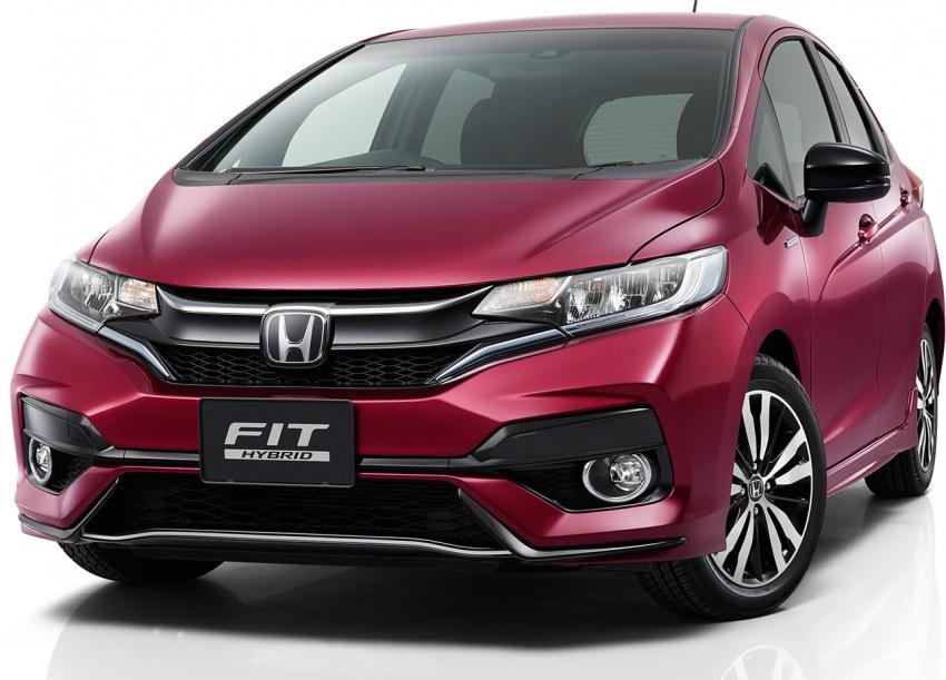 Honda Jazz/Fit <em>facelift</em> didedahkan di Jepun – dilancarkan di pasaran berkenaan pada Jun ini Image #657148