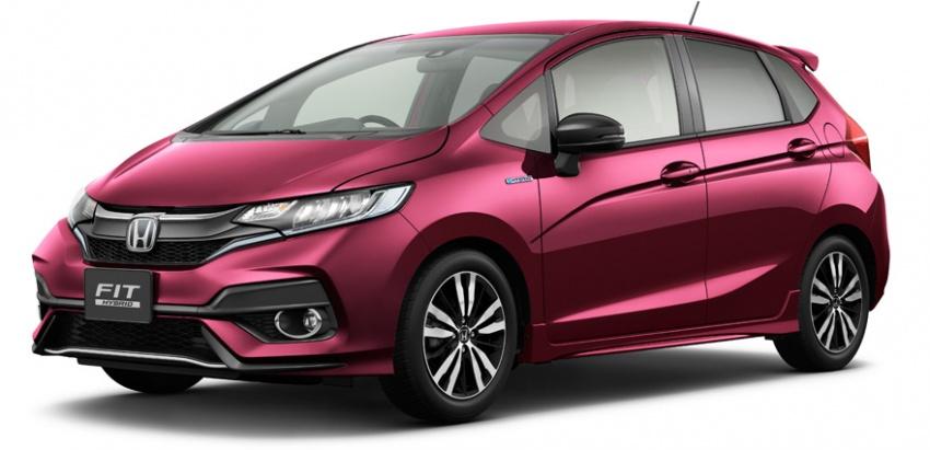 Honda reveals Fit/Jazz facelift in Japan – June launch Image #657102