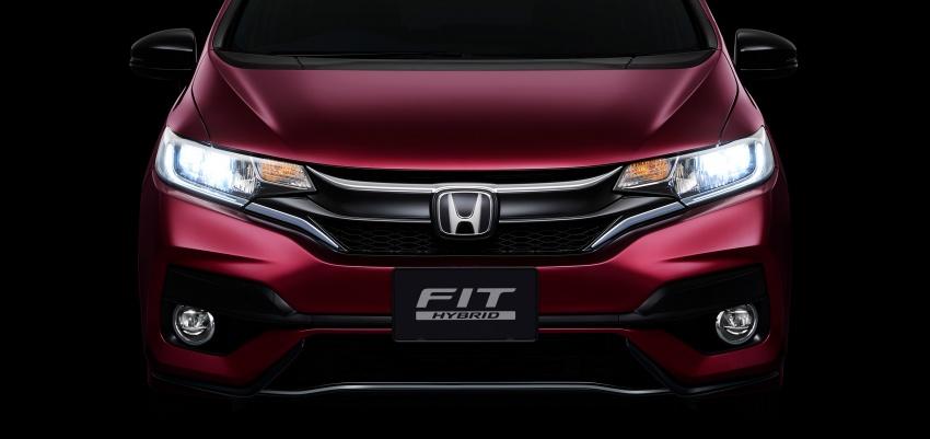 Honda reveals Fit/Jazz facelift in Japan – June launch Image #657103