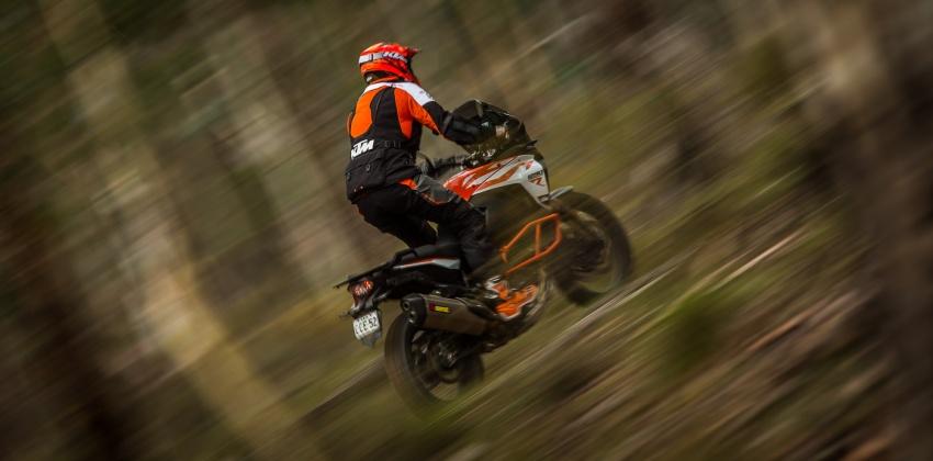 TUNGGANG UJI: KTM Super Adventure 1290 R bukan setakat mampu redah cabaran, malah mudah dikendali Image #661113