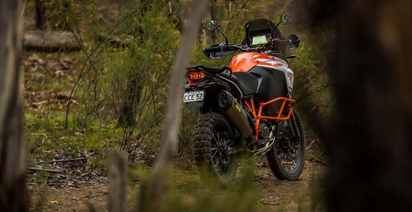 TUNGGANG UJI: KTM Super Adventure 1290 R bukan setakat mampu redah cabaran, malah mudah dikendali Image #661153