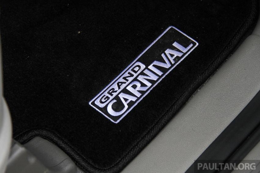 PANDU UJI: Kia Grand Carnival – dibangunkan secara teliti untuk kemudahan penggunaan setiap penumpang Image #665718