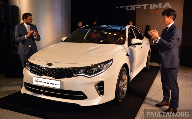 After A Turbulent 24 Hours Where Plenty Of Information About The New Kia Optima Gt Was Revealed Ful D Segment Sedan Finally Makes Its Official