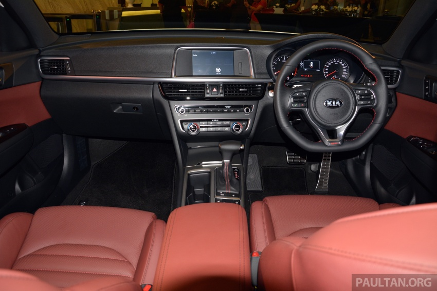 Kia Optima GT launched in Malaysia – 242 hp, RM180k Image #663090
