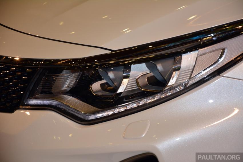 Kia Optima GT dilancarkan di Malaysia – RM179,888 Image #663231
