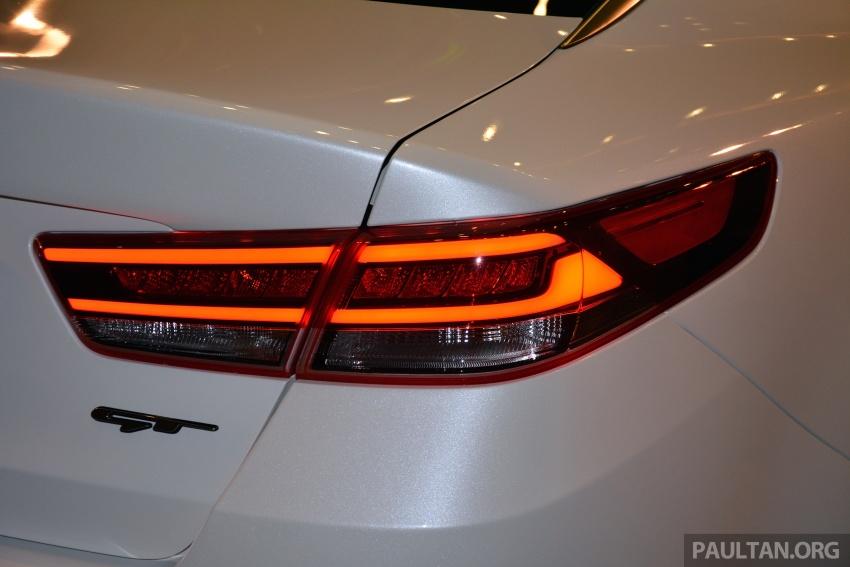 Kia Optima GT dilancarkan di Malaysia – RM179,888 Image #663221
