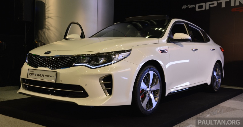 Kia Optima GT launched in Malaysia – 242 hp, RM180k Image #663094