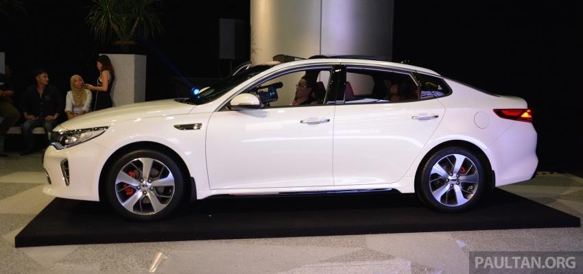 Kia Optima GT launched in Malaysia – 242 hp, RM180k Image #663095