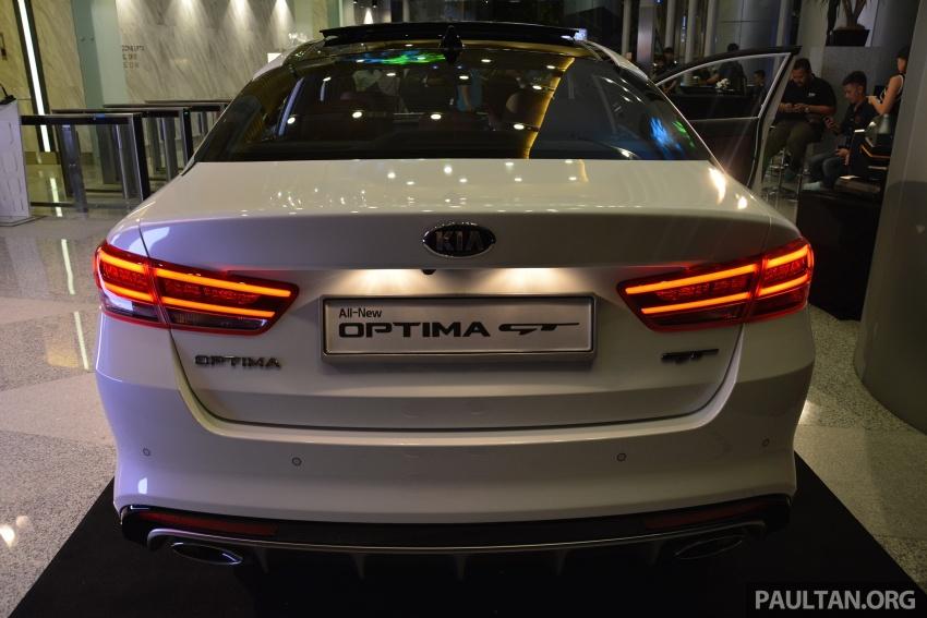Kia Optima GT dilancarkan di Malaysia – RM179,888 Image #663226