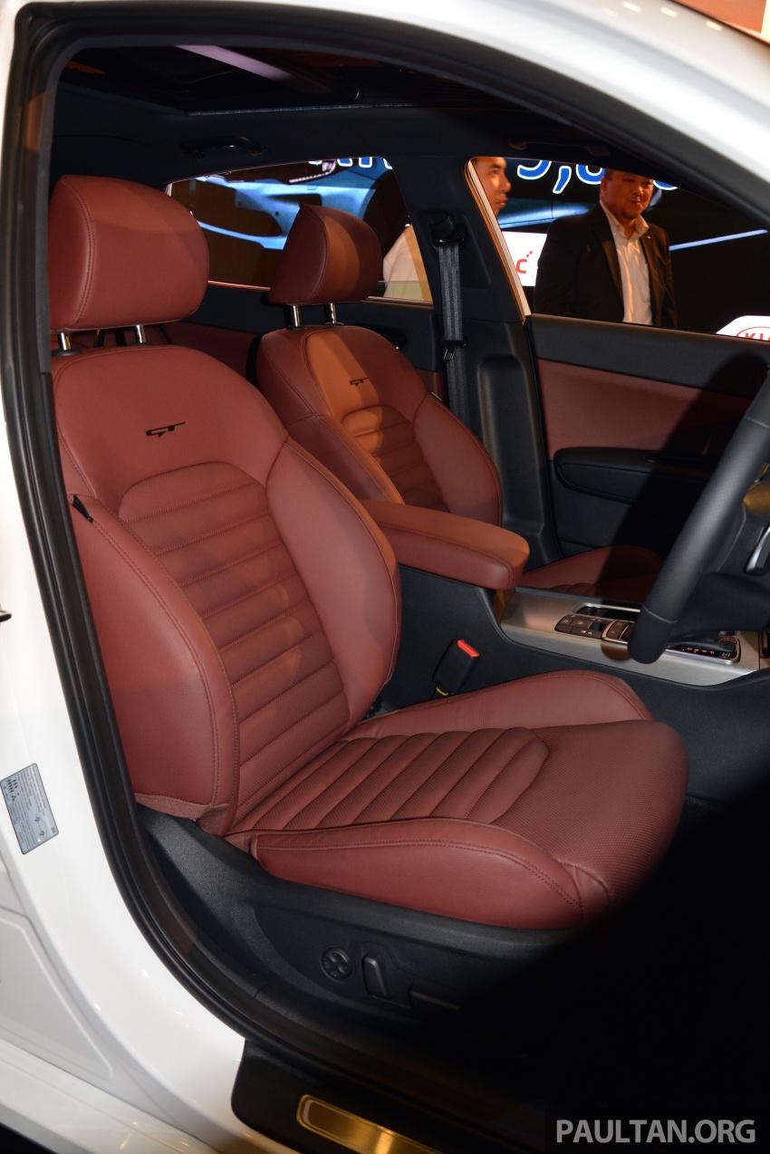 Kia Optima GT dilancarkan di Malaysia – RM179,888 Image #663227