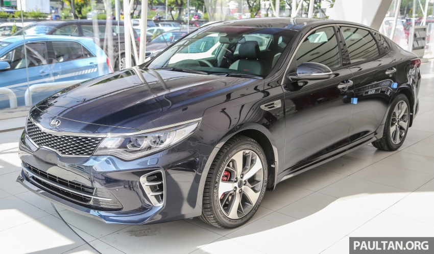 Kia Optima GT arrives in Malaysia – 2.0L T-GDI with 242 hp and 353 Nm; officially open for bookings Image #661891