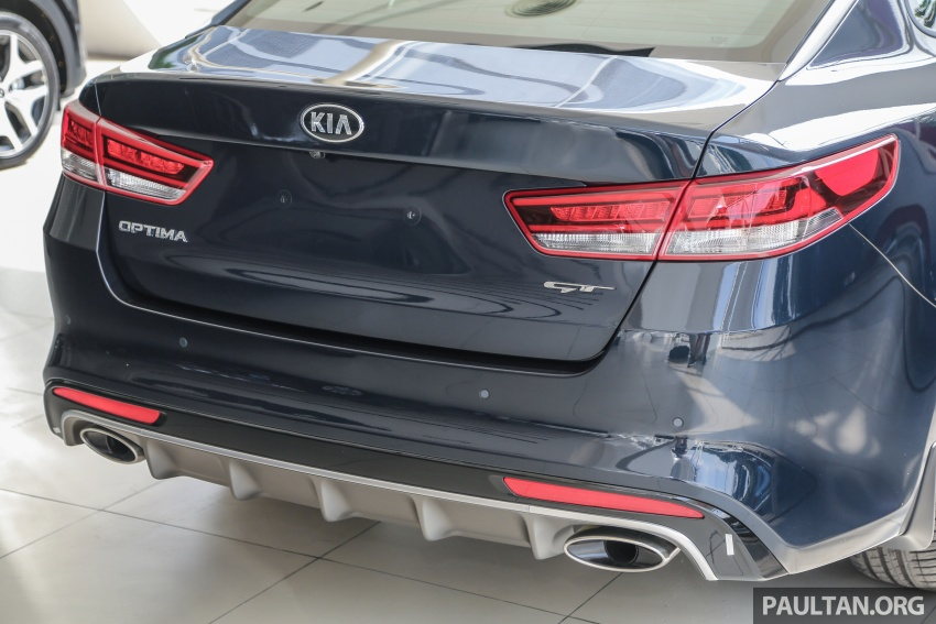 Kia Optima GT arrives in Malaysia – 2.0L T-GDI with 242 hp and 353 Nm; officially open for bookings Image #661908