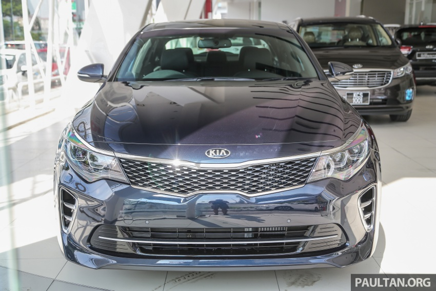 Kia Optima GT arrives in Malaysia – 2.0L T-GDI with 242 hp and 353 Nm; officially open for bookings Image #661893