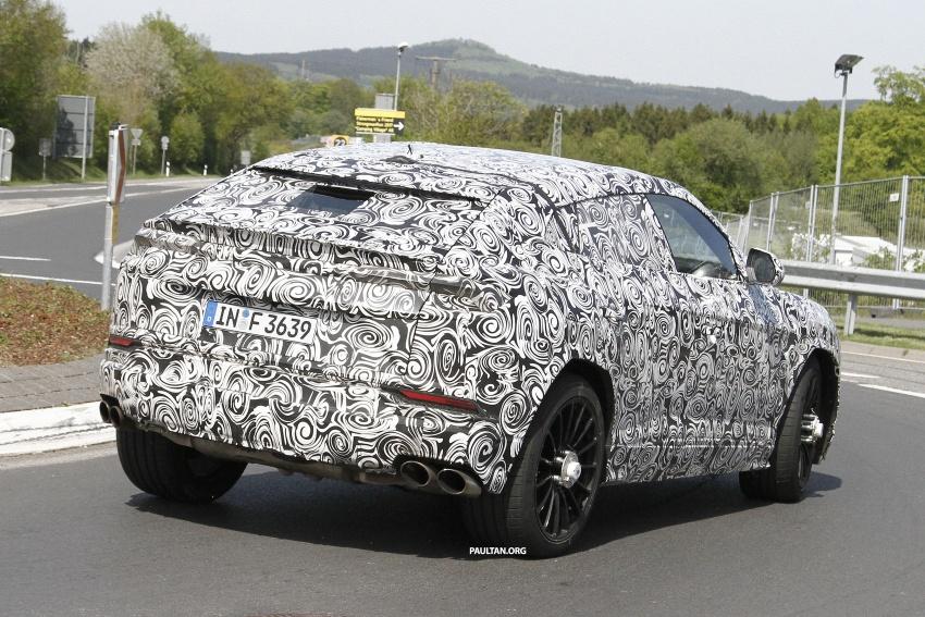 SPIED: Lamborghini Urus heads to the Nurburgring Image #663338