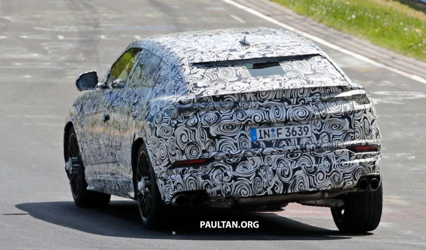 SPIED: Lamborghini Urus heads to the Nurburgring Image #661434