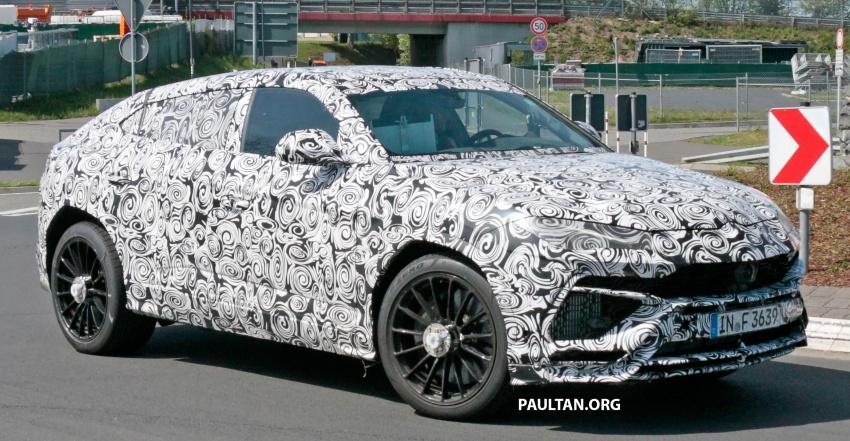 SPIED: Lamborghini Urus heads to the Nurburgring Image #661437