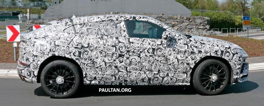 SPIED: Lamborghini Urus heads to the Nurburgring Image #661439