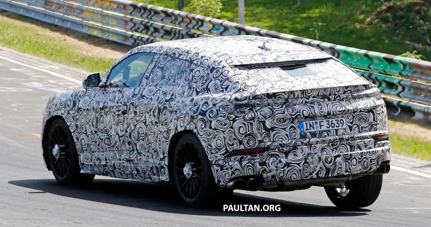 SPIED: Lamborghini Urus heads to the Nurburgring Image #661432