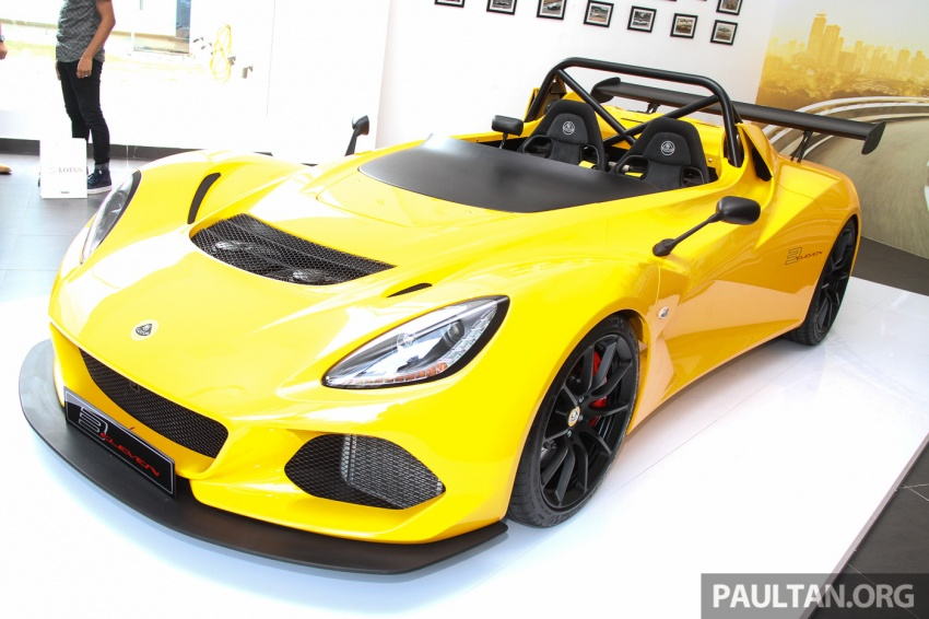 Lotus 3-Eleven launched in Malaysia, from RM641k Image #654052