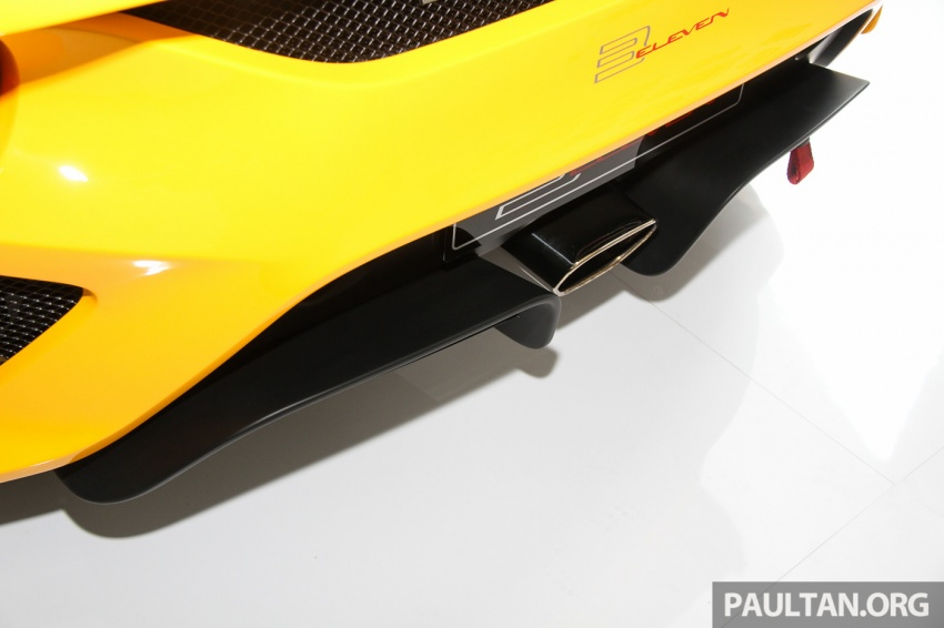 Lotus 3-Eleven launched in Malaysia, from RM641k Image #654054
