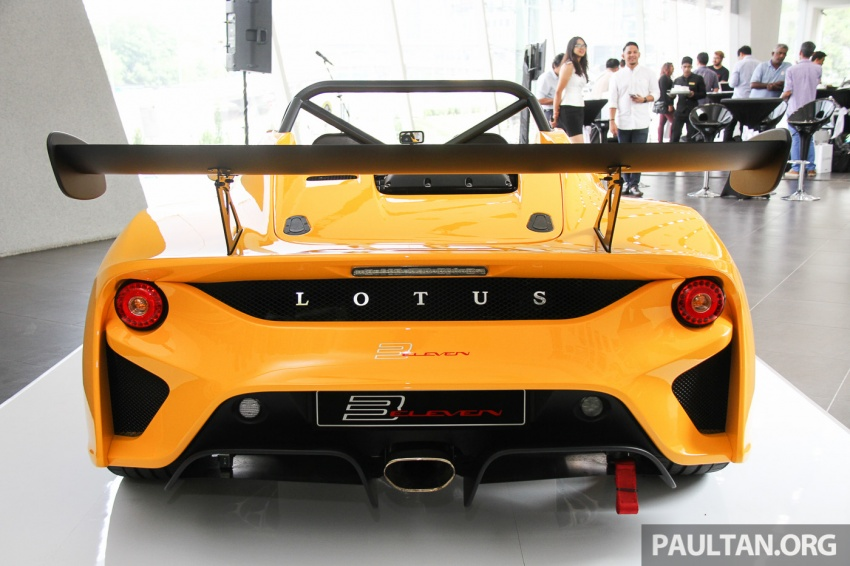 Lotus 3-Eleven launched in Malaysia, from RM641k Image #654062