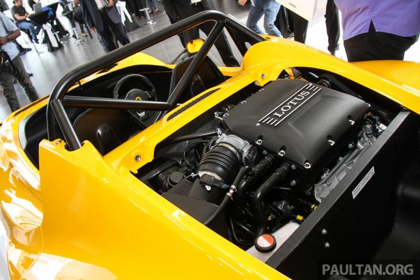 Lotus 3-Eleven secara rasmi diperkenalkan di Malaysia Image #653924