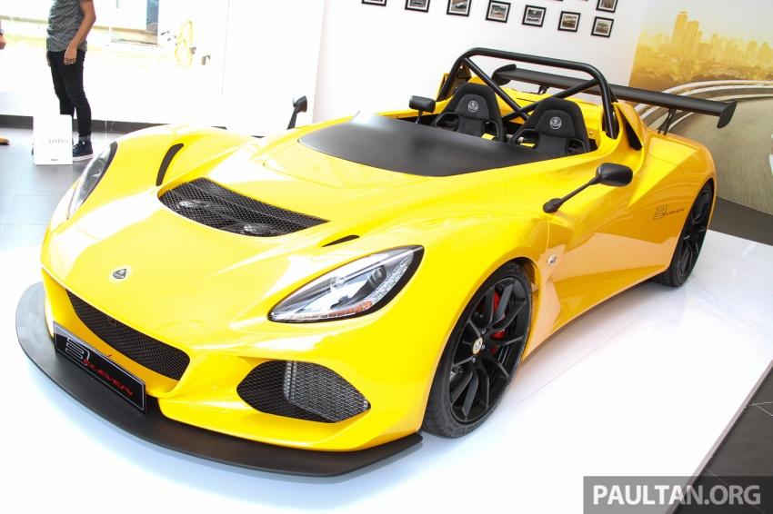 Lotus 3-Eleven secara rasmi diperkenalkan di Malaysia Image #653928