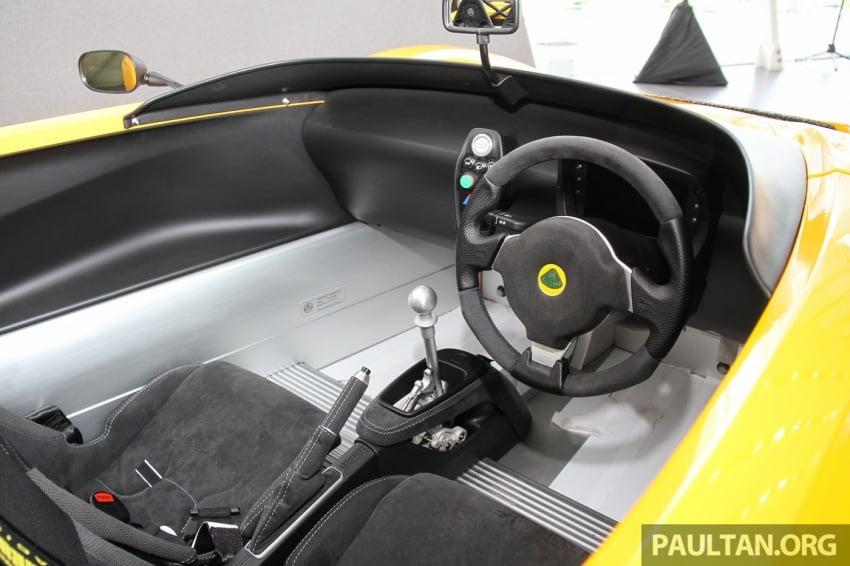 Lotus 3-Eleven secara rasmi diperkenalkan di Malaysia Image #653934