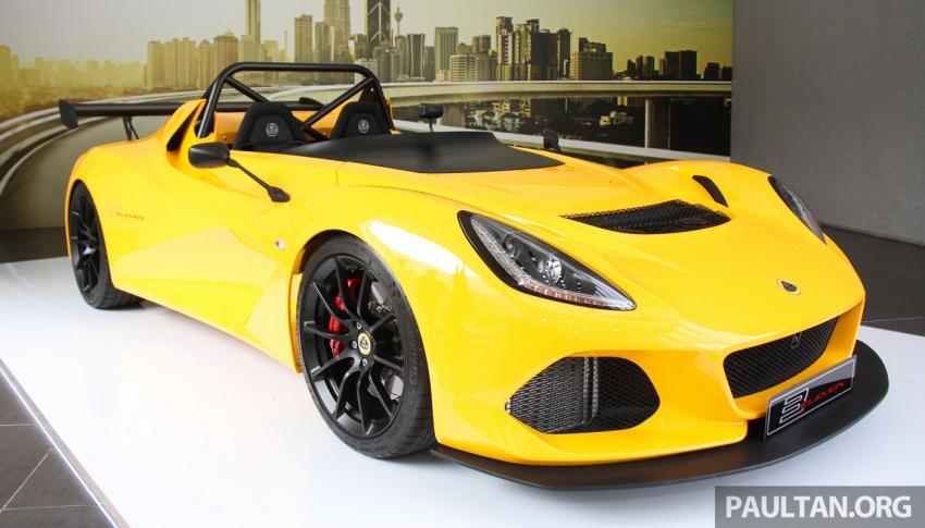 Lotus 3-Eleven secara rasmi diperkenalkan di Malaysia Image #653937