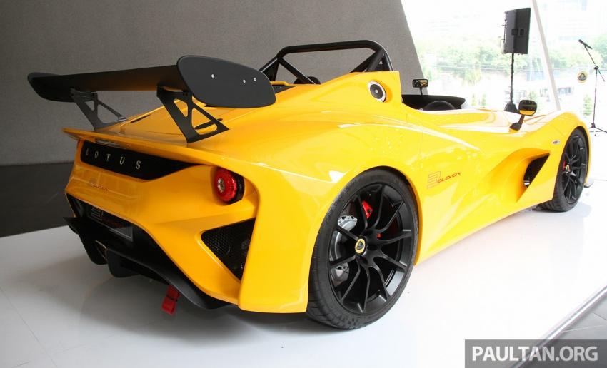 Lotus 3-Eleven secara rasmi diperkenalkan di Malaysia Image #653938