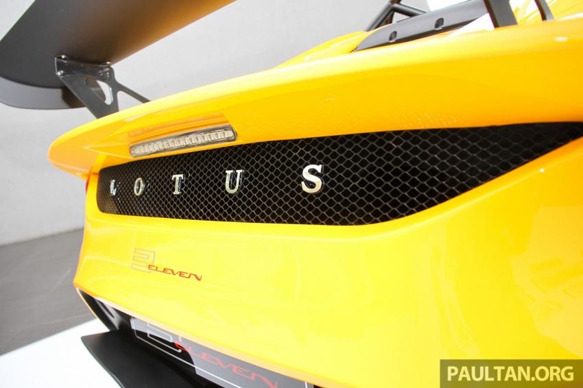 Lotus 3-Eleven secara rasmi diperkenalkan di Malaysia Image #653941