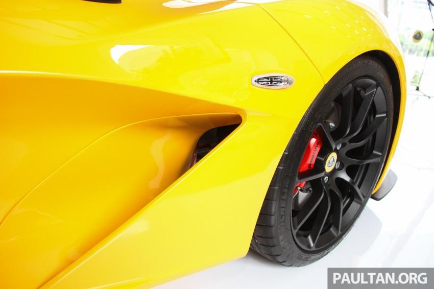 Lotus 3-Eleven secara rasmi diperkenalkan di Malaysia Image #653943