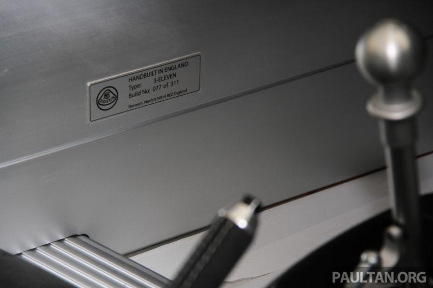 Lotus 3-Eleven secara rasmi diperkenalkan di Malaysia Image #653947
