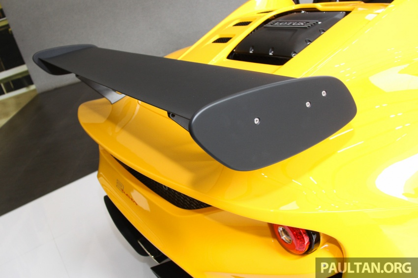 Lotus 3-Eleven secara rasmi diperkenalkan di Malaysia Image #653912
