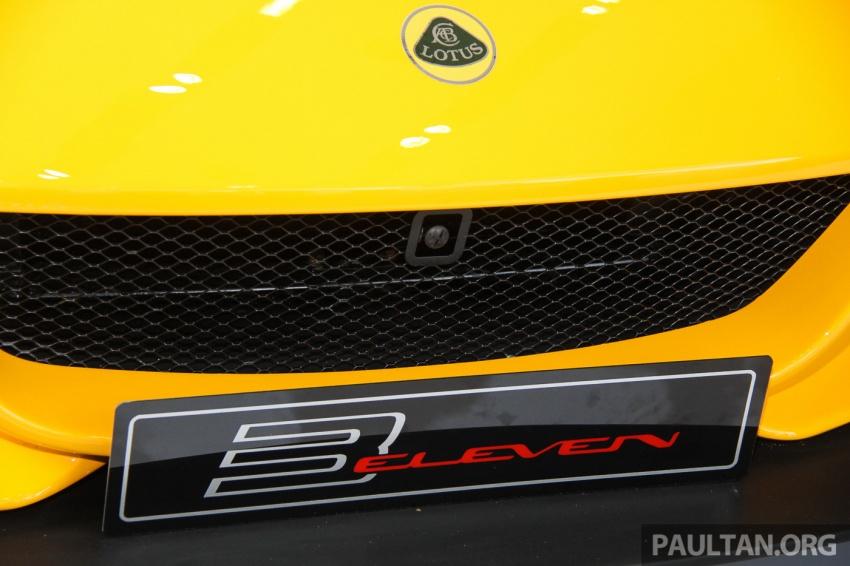 Lotus 3-Eleven secara rasmi diperkenalkan di Malaysia Image #653914