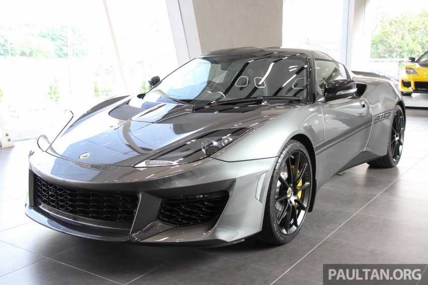 Lotus Evora Sport 410 launched in Malaysia, fr RM641k Image #653780