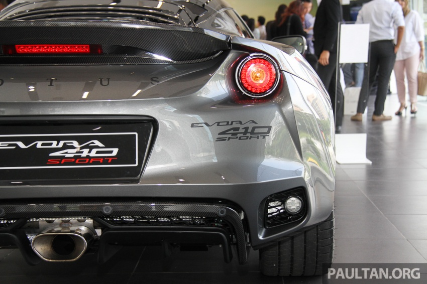 Lotus Evora Sport 410 launched in Malaysia, fr RM641k Image #653792