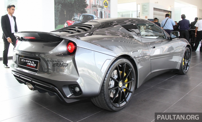 Lotus Evora Sport 410 launched in Malaysia, fr RM641k Image #653796