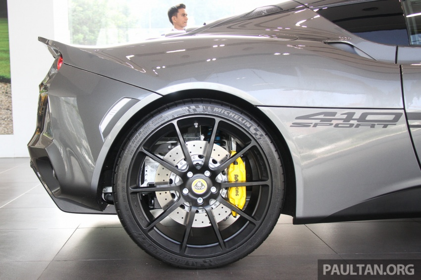 Lotus Evora Sport 410 launched in Malaysia, fr RM641k Image #653798