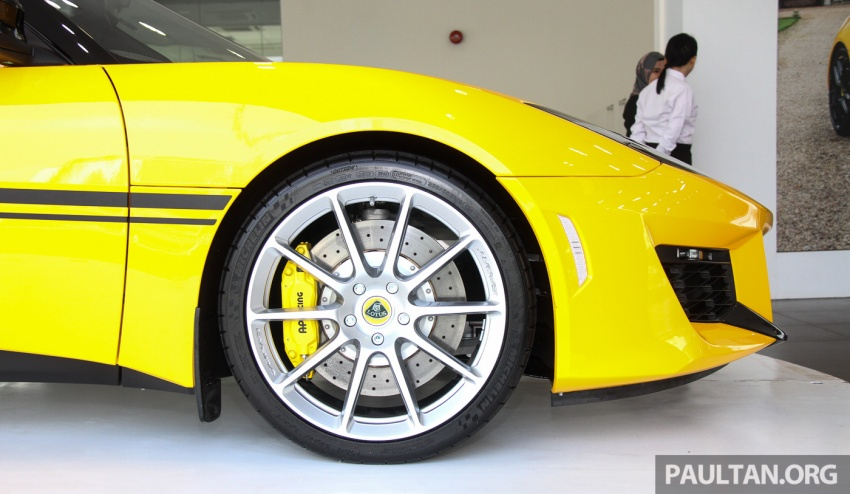 Lotus Evora Sport 410 launched in Malaysia, fr RM641k Image #653811